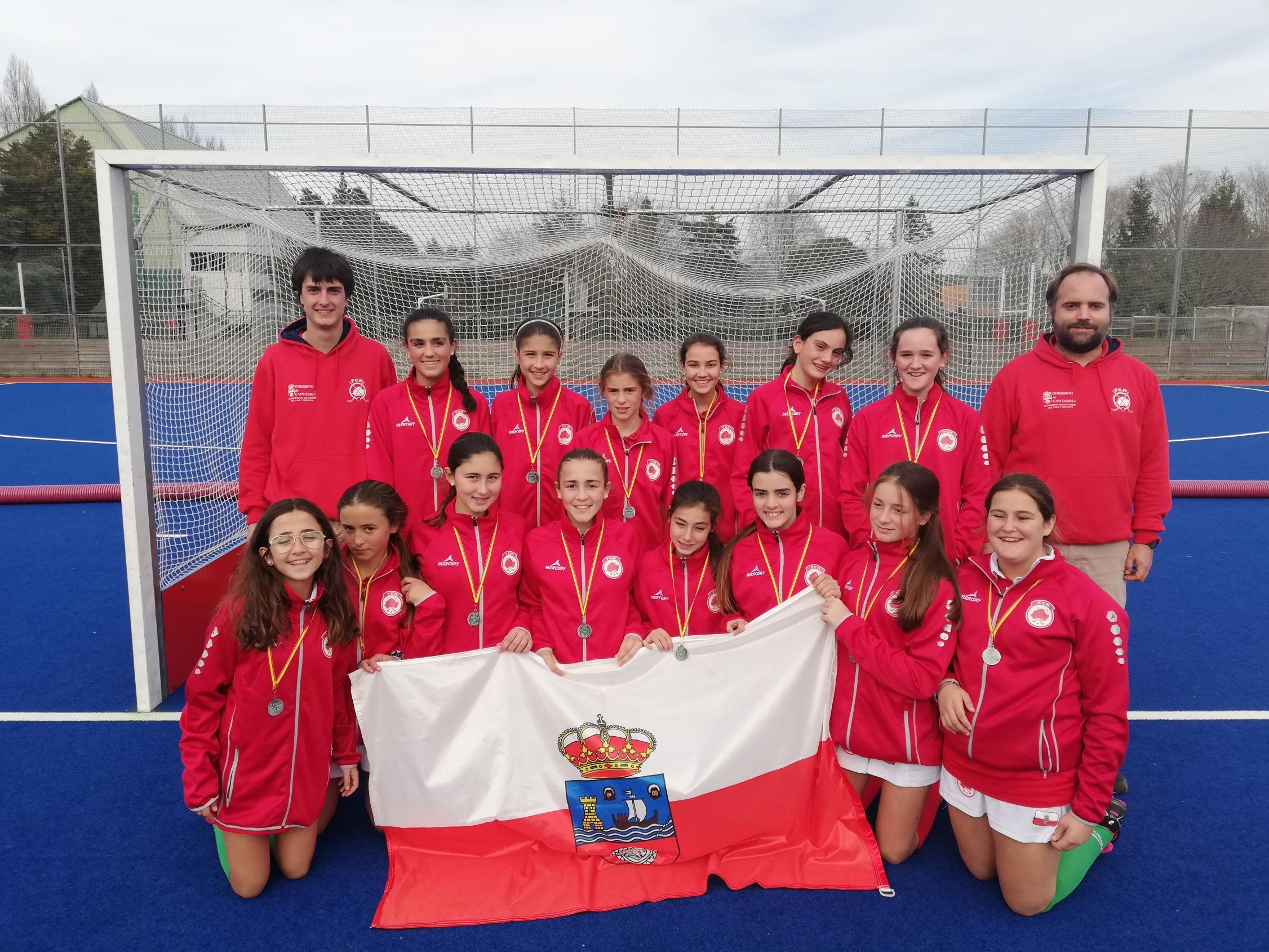 Sub 14 fem Subcampeona de España por Comunidades Autonomas